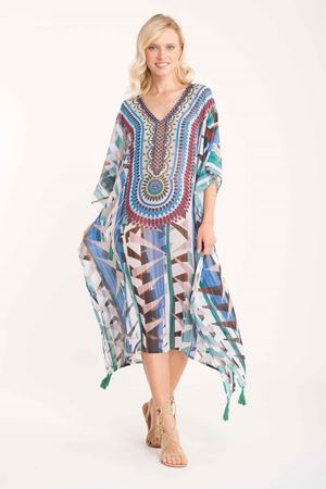 Bilde av ICONIQUE kaftan, multicolor