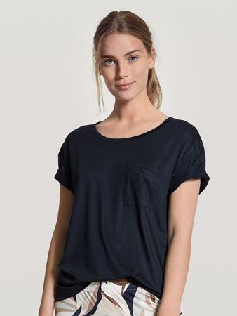 Bilde av Calida '100% NATURE' t-shirt, dark lapis blue