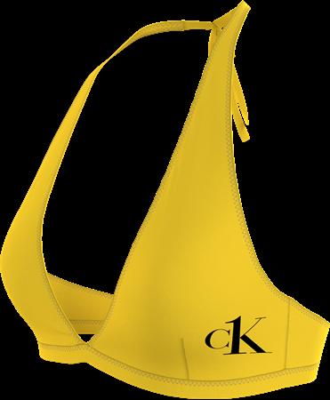 Bilde av Calvin Klein 'PURE SWIM' bikinioverdel, hazard yellow