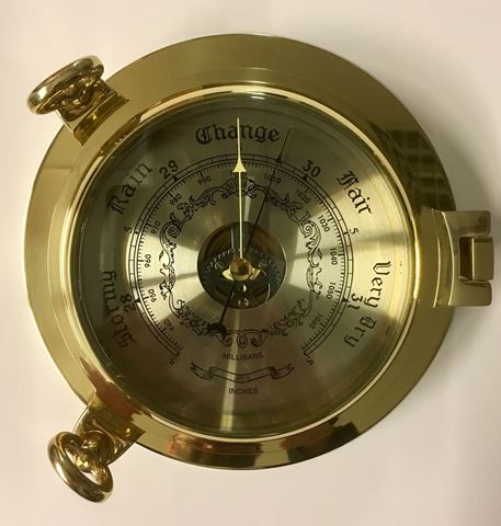 Picture of Barometer  messing