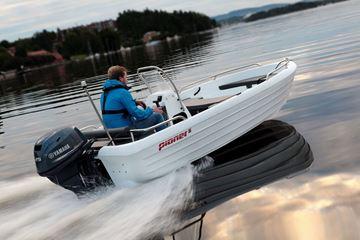 Bilde av Pioner 15 m/konsoll og Yamaha F9,9HEL Sport (20hk)