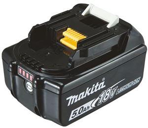 Makita li-ion batteri 18V 5,0Ah med batteriindiktor