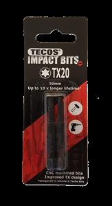 Tecos Impact/torsion bits Torx to-pakk