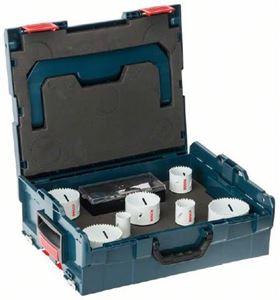 Bosch hullsagsett, blå (13 deler)